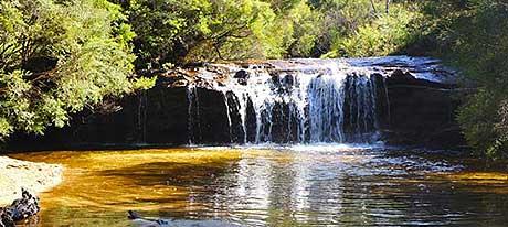 One of the many beautiful waterfalls.